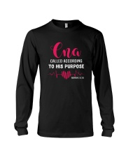 CNA called according to his purpose Long Sleeve Tee tile