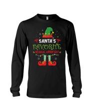 Santa's Favorite Medical Assistant Long Sleeve Tee thumbnail