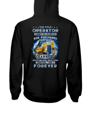I own the title Operator forever Hooded Sweatshirt thumbnail