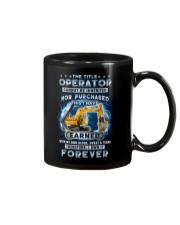 I own the title Operator forever Mug thumbnail