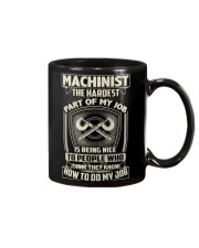 Machinist: Hardest part of my job Mug thumbnail