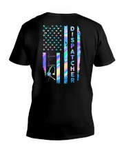 Dispatcher US Flag V-Neck T-Shirt tile