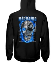 I can fix what stupid does Mechanic Hooded Sweatshirt tile