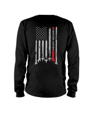 Aircraft Mechanic USA Flag Long Sleeve Tee thumbnail