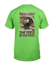 Strongest men become Tow Truck Operators Classic T-Shirt back