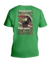 Strongest men become Tow Truck Operators V-Neck T-Shirt thumbnail