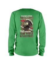 Strongest men become Tow Truck Operators Long Sleeve Tee thumbnail