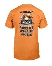 Forklift Operator: Annoy at your own risk  Premium Fit Mens Tee thumbnail