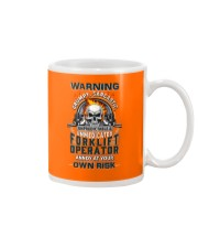Forklift Operator: Annoy at your own risk  Mug thumbnail