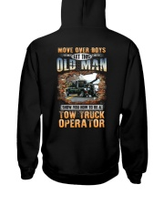 This Oldman show you How to be Tow Truck Operator Hooded Sweatshirt thumbnail