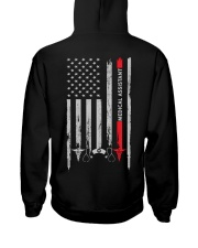 Proud American Medical Assistant Flag Hooded Sweatshirt tile