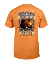 This Old man Show you How to be Welder Premium Fit Mens Tee tile
