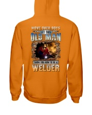 This Old man Show you How to be Welder Hooded Sweatshirt tile