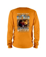 This Old man Show you How to be Welder Long Sleeve Tee tile