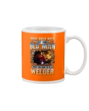 This Old man Show you How to be Welder Mug tile