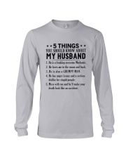 5 things you should know about my Mechanic Long Sleeve Tee thumbnail