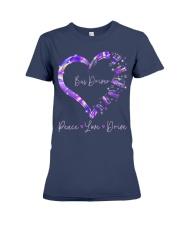 Peace Love Bus Driver Premium Fit Ladies Tee thumbnail