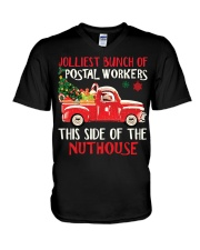 Awesome Postal Worker V-Neck T-Shirt tile