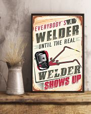 Awesome Welder's 11x17 Poster lifestyle-poster-3