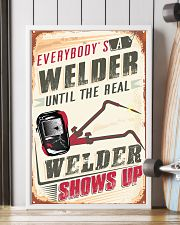 Awesome Welder's 11x17 Poster lifestyle-poster-4