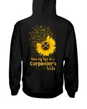 Love my llife as a Carpenter's wife  Hooded Sweatshirt thumbnail