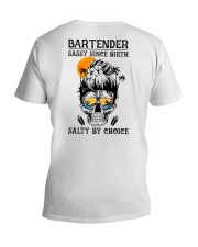 Bartender Salty by Choice V-Neck T-Shirt thumbnail