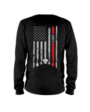 Proud American Chef Flag Long Sleeve Tee thumbnail