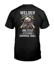 Welder It's a 2020 Survival Skill Classic T-Shirt back