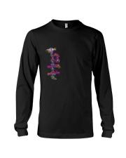Colorful Heartbeat Nurse shirt Long Sleeve Tee thumbnail
