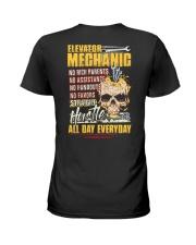 Awesome Elevator Mechanic Ladies T-Shirt thumbnail