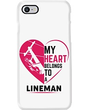 My Heart belongs to a Lineman Phone Case i-phone-7-case