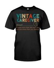 Vintage Caregiver Classic T-Shirt thumbnail