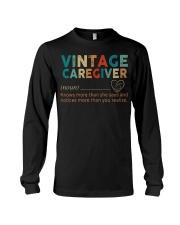 Vintage Caregiver Long Sleeve Tee thumbnail