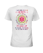 I was born to be an EMT Ladies T-Shirt thumbnail