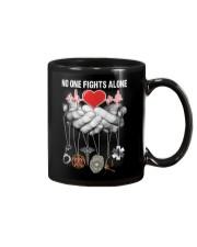 No One Fights Alone Nurse Mug thumbnail