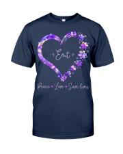 Peace Love Emt Classic T-Shirt front