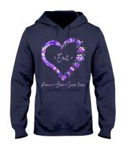 Peace Love Emt Hooded Sweatshirt thumbnail
