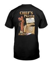 Chef's Prayer Classic T-Shirt back