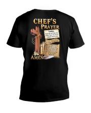 Chef's Prayer V-Neck T-Shirt tile