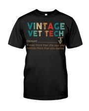 Vintage Vet Tech Classic T-Shirt thumbnail