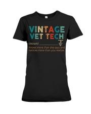 Vintage Vet Tech Premium Fit Ladies Tee thumbnail