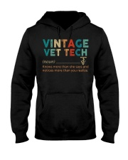 Vintage Vet Tech Hooded Sweatshirt thumbnail