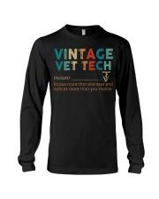 Vintage Vet Tech Long Sleeve Tee thumbnail