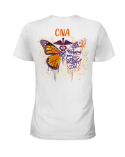 She believed she could so she did: CNA Ladies T-Shirt thumbnail
