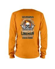 Sarcastic Lineman Long Sleeve Tee thumbnail