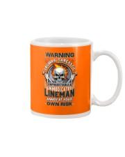 Sarcastic Lineman Mug thumbnail