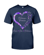 Peace Love Childcare Provider Classic T-Shirt thumbnail