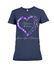 Peace Love Childcare Provider Premium Fit Ladies Tee thumbnail
