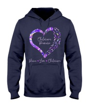 Peace Love Childcare Provider Hooded Sweatshirt thumbnail