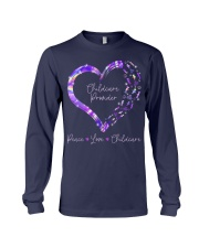 Peace Love Childcare Provider Long Sleeve Tee thumbnail
